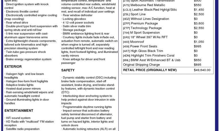 2012 BMW 328i Sport-Line   R&J Automotive Co